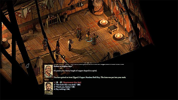 Visiting the Tikwara Island is theoretically an optional step, but you should not skip it as it will allow you to get the key to the dungeon where the main part of the quest is situated - The Storms of Poko Kohara side quest | Walkthrough - Side quests - Pillars Of Eternity 2 Deadfire Game Guide