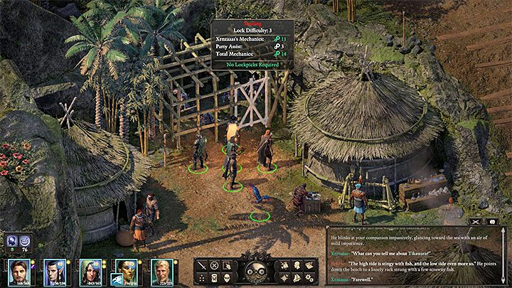 Go towards the northern part of the ravine - Other side quests on Tikawara Island Walkthrough - Side Quests - Pillars Of Eternity 2 Deadfire Game Guide