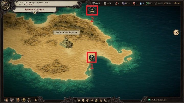 Pillars Of Eternity World Map Complete.Exploration And Environmental Interactions Pillars Of Eternity 2