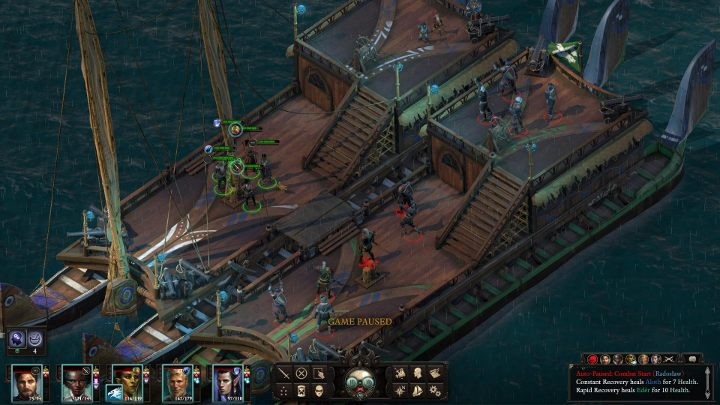 Boarding a ship is about getting really close to an enemy vessel and getting on their deck - Ship combat in Pillars of Eternity 2 - Traveling by ship - Pillars Of Eternity 2 Deadfire Game Guide