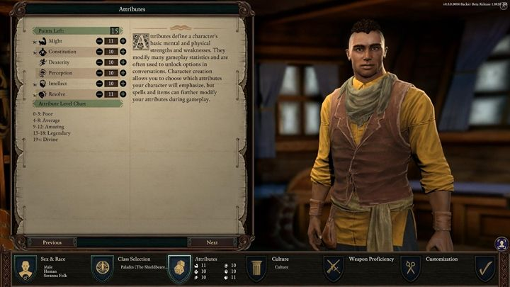 High-level attributes unlock unique dialogue options and create interesting scenarios - Distributing attributes - Character progression - Pillars Of Eternity 2 Deadfire Game Guide