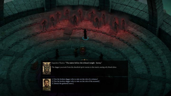 After using the portal, you will be a witness of womans interrogation - The Endless Queries | Main Quests in Pillars Of Eternity 2 Beast of Winter DLC - Main Quests - Pillars Of Eternity 2 Deadfire Game Guide