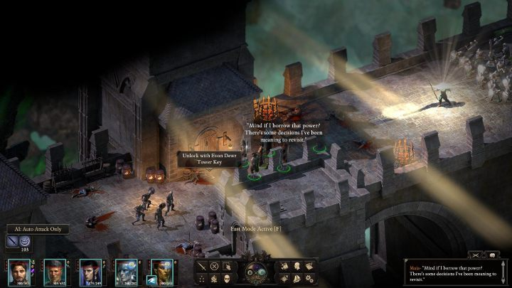 You will be time-warped - The Bridge Ablaze | Main Quests in Pillars Of Eternity 2 Beast of Winter DLC - Main Quests - Pillars Of Eternity 2 Deadfire Game Guide