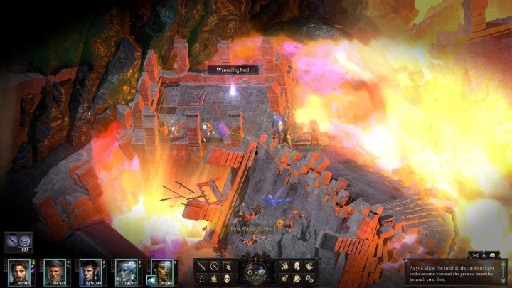 Go back to the light stream - this time turn the sundial towards dusk - The Bridge Ablaze | Main Quests in Pillars Of Eternity 2 Beast of Winter DLC - Main Quests - Pillars Of Eternity 2 Deadfire Game Guide