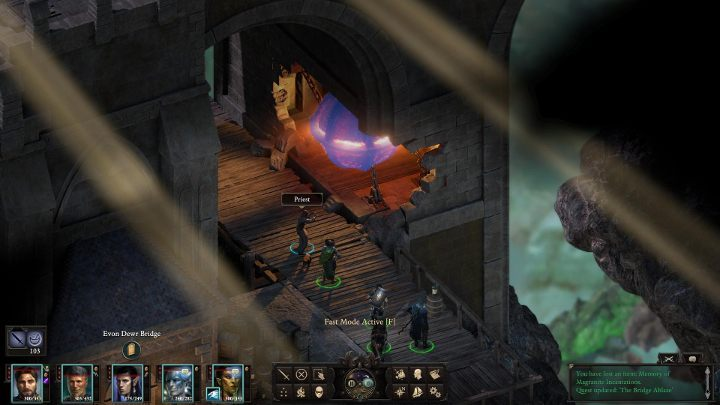 You will be time-walked again - The Bridge Ablaze | Main Quests in Pillars Of Eternity 2 Beast of Winter DLC - Main Quests - Pillars Of Eternity 2 Deadfire Game Guide