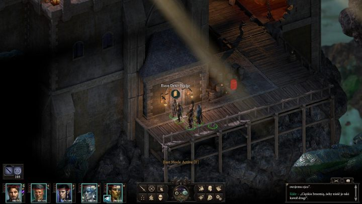 Once you have gained the second soul fragment, take the advantage of the nearby Evon Dewr Bridge entrance - The Bridge Ablaze | Main Quests in Pillars Of Eternity 2 Beast of Winter DLC - Main Quests - Pillars Of Eternity 2 Deadfire Game Guide