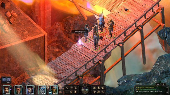 You will move to a new place - The Bridge Ablaze | Main Quests in Pillars Of Eternity 2 Beast of Winter DLC - Main Quests - Pillars Of Eternity 2 Deadfire Game Guide