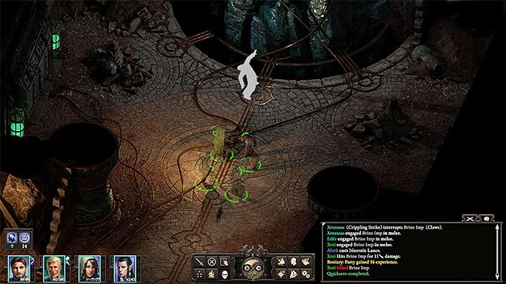 In order to find Oderisi, you will need to visit the main dungeon of the excavation site - the Arena Sub-level (M9), to be more exact - Stranded | Island Maje | Walkthrough - Quests - Pillars Of Eternity 2 Deadfire Game Guide