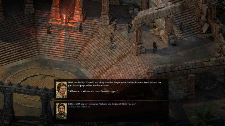 Learning with a teacher is just a matter of dialogue - just choose the right option. - List of teachers in Pillars of Eternity 2 - Lists and summaries - Pillars Of Eternity 2 Deadfire Game Guide