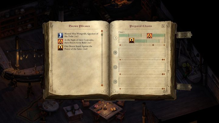 Chants arent used like other skills - they have to be combined into songs - Chanter Class in Pillars of Eternity 2 - Character Classes - Pillars Of Eternity 2 Deadfire Game Guide