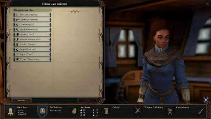 By combining the Priest with other classes, you can get the following results - Priest Class in Pillars of Eternity 2 - Character Classes - Pillars Of Eternity 2 Deadfire Game Guide
