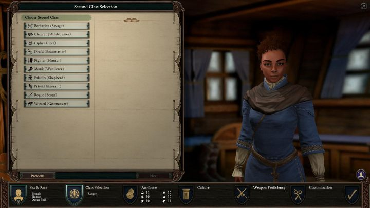 By combining the Ranger with other classes, you can get the following results - Ranger Class in Pillars of Eternity 2 - Character Classes - Pillars Of Eternity 2 Deadfire Game Guide