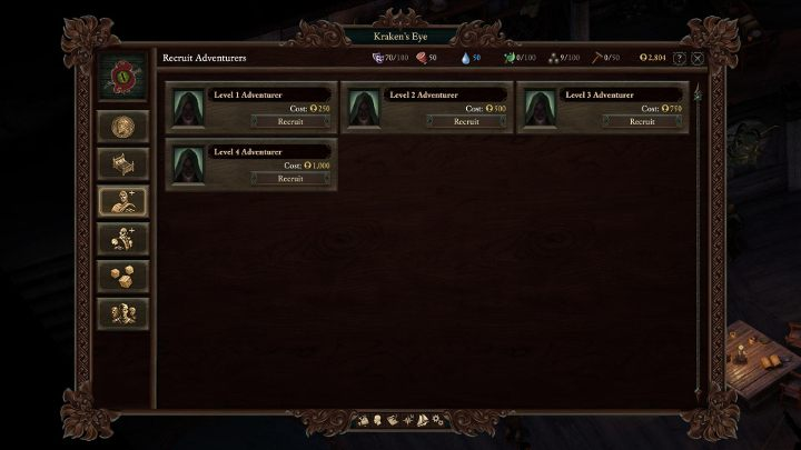 Buying a companion lets you build the character from the ground up. - How to quickly assemble the party in Pillars of Eternity 2? - FAQ - Pillars Of Eternity 2 Deadfire Game Guide