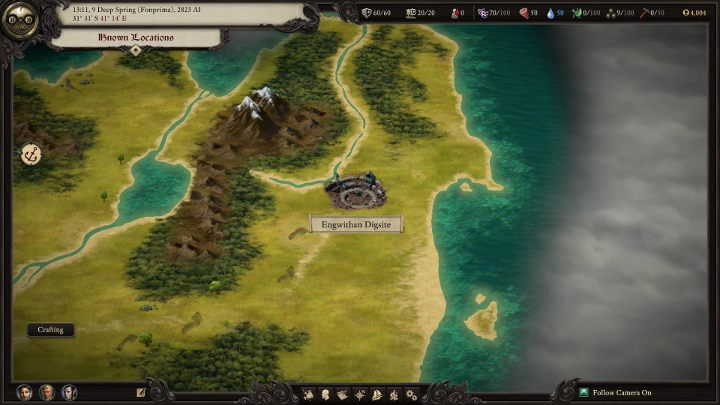 The Engwithan Digsite is the first major dungeon you explore in the game. - How to get off the first island in Pillars of Eternity 2 - FAQ - Pillars Of Eternity 2 Deadfire Game Guide