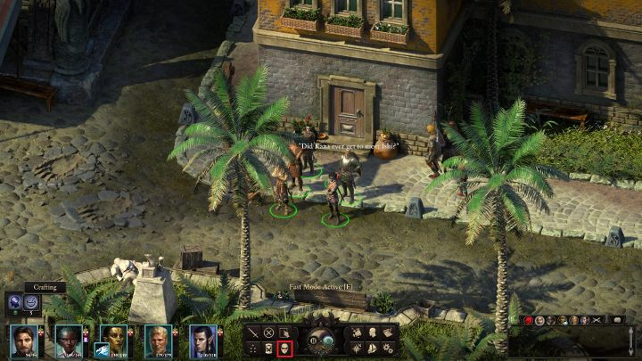 The marked icon enables you to activate the sneaking mode - Stealth and stealing in Pillars of Eternity 2 - Basics - Pillars Of Eternity 2 Deadfire Game Guide
