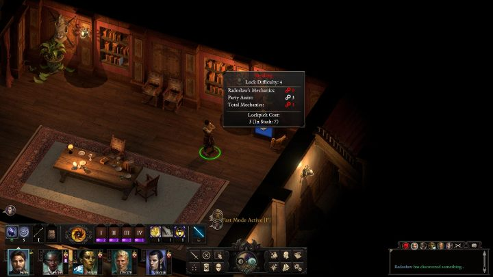 Mechanics enables you to open locked doors, chests, cupboards and other containers - Stealth and stealing in Pillars of Eternity 2 - Basics - Pillars Of Eternity 2 Deadfire Game Guide