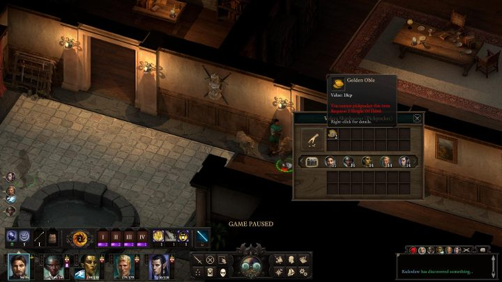 Pick-pocketing is more demanding - Stealth and stealing in Pillars of Eternity 2 - Basics - Pillars Of Eternity 2 Deadfire Game Guide