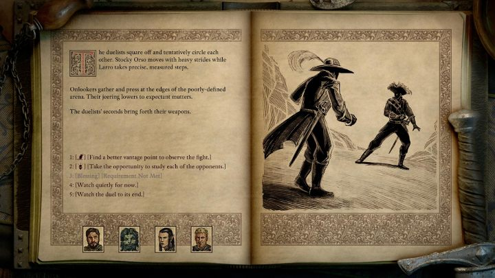 This does not mean that you wont take an active role during the events - Scripted Interactions in Pillars of Eternity 2 - Basics - Pillars Of Eternity 2 Deadfire Game Guide
