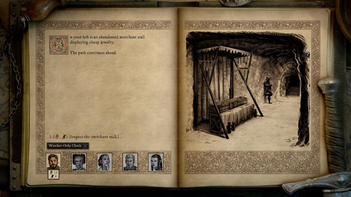 Sometimes, an action can only be completed by the Watcher - your character - Scripted Interactions in Pillars of Eternity 2 - Basics - Pillars Of Eternity 2 Deadfire Game Guide