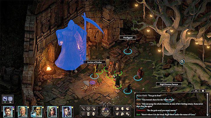 The Lantern of Gaun - 10 - Xoti's companion quest - Pillars Of