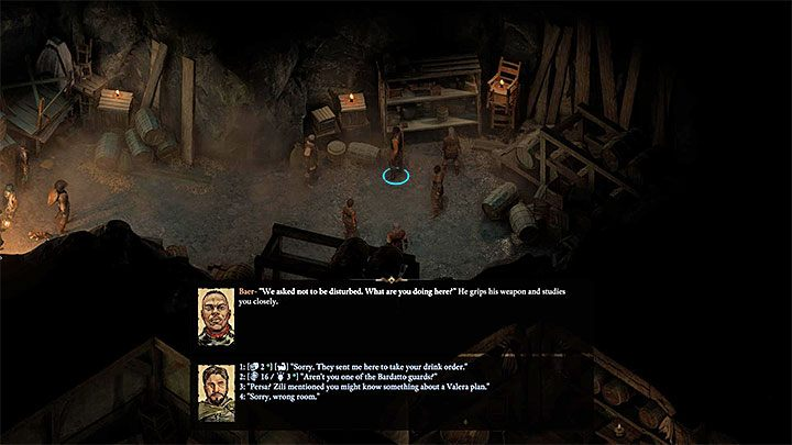 You now have to go to The Gutter - The conflict between Valera and Bardatto families side quests | Walkthrough - Quests - Pillars Of Eternity 2 Deadfire Game Guide