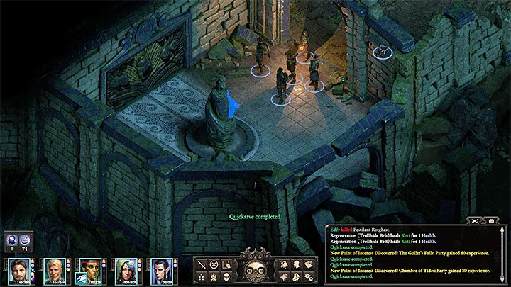 In the Old City you have to be more careful, as the team may run into more powerful enemies, such as shadows, rabid corpse eaters or a mad harvester - The Cornetts Call side quest | Neketaka Island Walkthrough - Quests - Pillars Of Eternity 2 Deadfire Game Guide