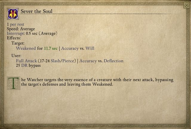 The skill that you obtained is not too powerful, but it may prove useful in some situations. - The Iron Flail - main quest - Stalwart - Pillars of Eternity Game Guide & Walkthrough