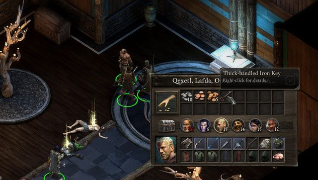 After possible defeating the priests dont forget to take the key and open the chest in the corner of the room. - Regrets Worth Trading - side quest - Stalwart Village - Pillars of Eternity Game Guide & Walkthrough