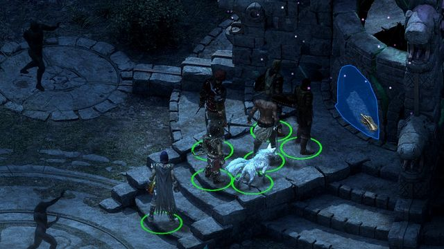 When you return to Cilant Lis, you will be able to interact with the adra machine. - The Grey Sleeper - side quest - Longwatch Falls - Pillars of Eternity Game Guide & Walkthrough