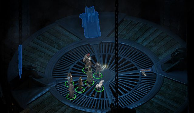 While inside, you need to find the Artillery Lift (M5,8) - Ready the Cannons - side quest - Stalwart - Pillars of Eternity Game Guide & Walkthrough