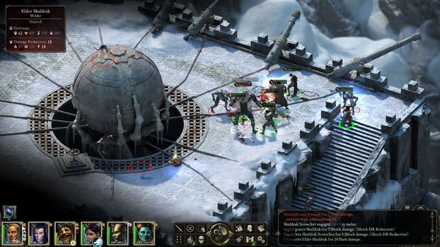 During the fight with the last opponent, try to use terrain formations to your advantage . - Ready the Cannons - side quest - Stalwart - Pillars of Eternity Game Guide & Walkthrough