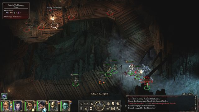 Watch out for the archers during the duel with the Ice Troll. - Whispers in the Dark - side quest - Stalwart - Pillars of Eternity Game Guide & Walkthrough