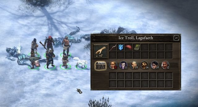 Obtaining the heart of the ice troll might prove to be very difficult. - A Lovely Drop - side quest - Stalwart Village - Pillars of Eternity Game Guide & Walkthrough