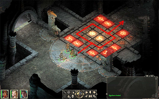 When you start the fire in six locations, return to the corridor with traps (M2,7) - The Ruins of Cilant Lis - Main quest - Cilant Lis - Pillars of Eternity Game Guide & Walkthrough