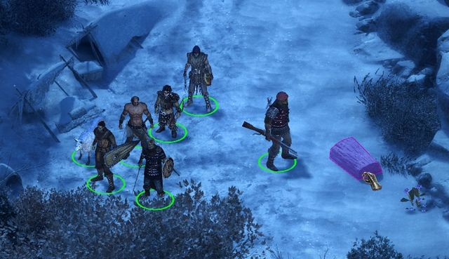 Take the hunters totem from the chest on the right from the abandoned camp. - The Hunters Favor - side quest - Stalwart Village - Pillars of Eternity Game Guide & Walkthrough