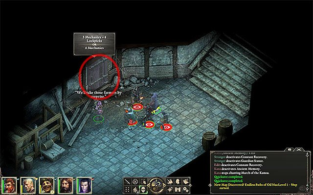 The room in the dungeon where Maerwald resides - The Old Watcher - Main quest - Gilded Vale - Pillars of Eternity Game Guide & Walkthrough
