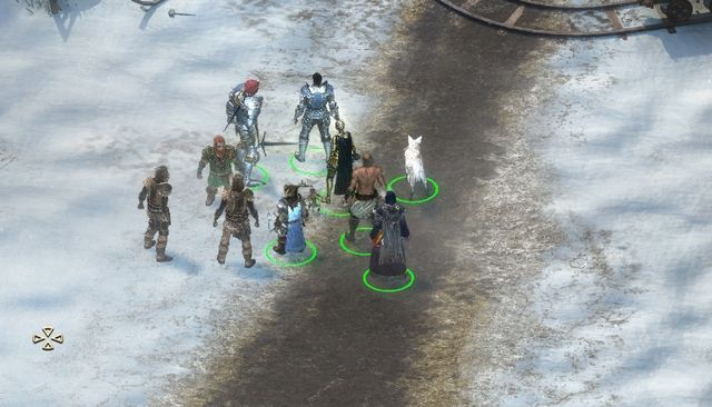 East of Ydurans Wagon (M1,2), you will meet mayor Tarfos, who is talking to a group of villagers - Risk Tolerance - side quest - Stalwart - Pillars of Eternity Game Guide & Walkthrough