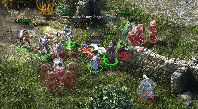 The two mages pose the biggest threat. - Remaining side quests in Stalwart Village - Stalwart - Pillars of Eternity Game Guide & Walkthrough