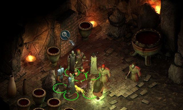 In Blood Sands, you need to find four stone tablets. - Side quests in Stormwall Gorge - Stormwall Gorge - Pillars of Eternity Game Guide & Walkthrough