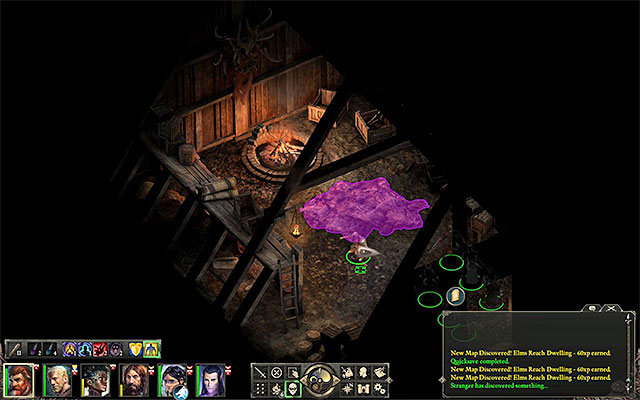 The location, where you find a rare armor in the Elms Reach cottage - Side quests in Elmshore - Cliaban Rilag and Elmshore - Pillars of Eternity Game Guide & Walkthrough