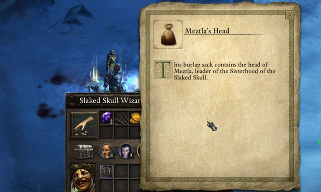 Aby m�c wr�cic do zleceniodawcy musisz zabrac glowe Meztli. - Other side quests in Stalwart Village - Stalwart Village - Pillars of Eternity Game Guide & Walkthrough