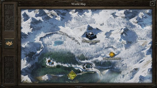 The game world of The White March expansion to the Pillars of Eternity was divided into two main sections - Game world | The White March Part I - New Content in Pillars of Eternity: The White March Part I - Pillars of Eternity Game Guide & Walkthrough