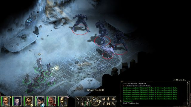 Theres a number of difficult encounters awaiting you in the mines, including one with a group of Ice Trolls. - The White Forge - main quest - Durgans Battery - Pillars of Eternity Game Guide & Walkthrough