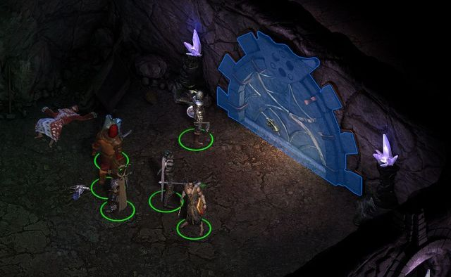 After you have found all three seals, find and click the door. - Side quests in Endless Paths of Od Nua - Endless Paths of Od Nua - Pillars of Eternity Game Guide & Walkthrough