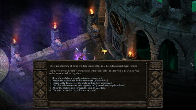 The second decision concerns the souls collected by Thaos - Endings - Final Locations in Pillars of Eternity - Pillars of Eternity Game Guide & Walkthrough