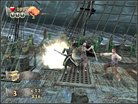9 - Final mission - part 1 - FINAL MISSION - Maelstrom - Pirates of the Caribbean: At Worlds End - Game Guide and Walkthrough