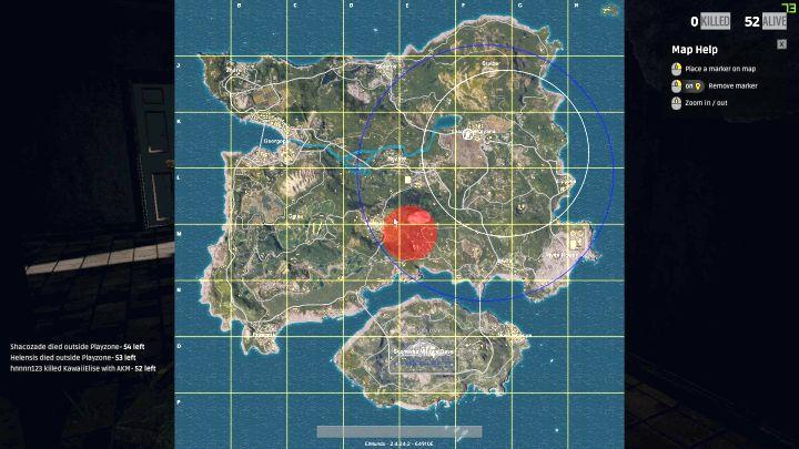 Playerunknown S Battlegrounds Maps Loot Maps Pictures: Fighting Zones - White And Blue Zones