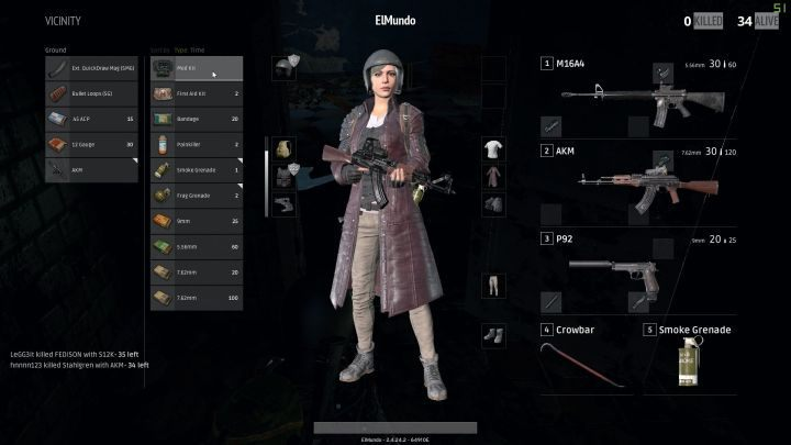 Items Consumables Healing Weapons Pubg Game Guide