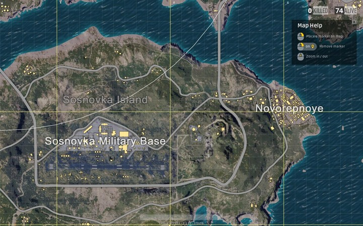 Maps In Playerunknown's Battlegrounds