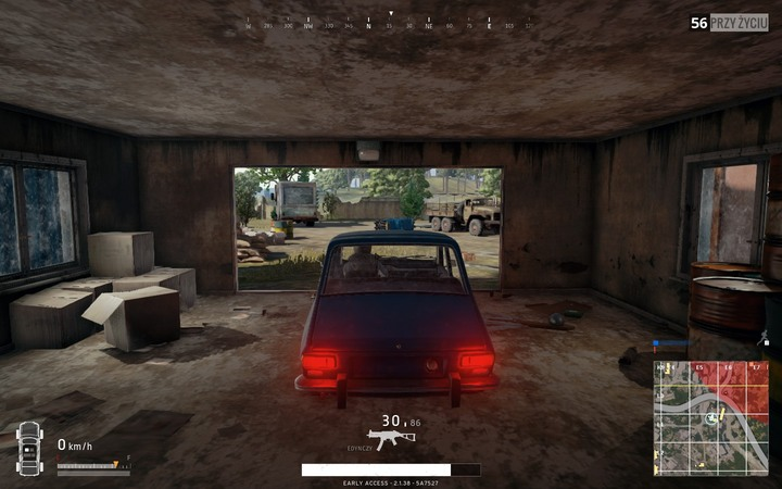 1 - First moments after touchdown in Battlegrounds Controls - Tips for a good start - Playerunknowns Battlegrounds Game Guide